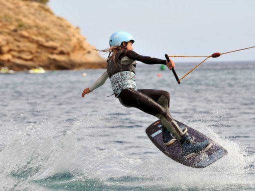 Curso iniciación wakeboard