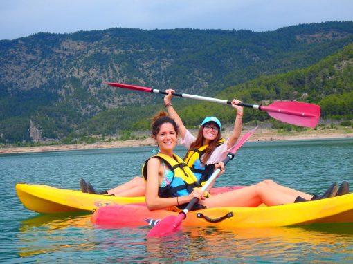 Kayak en aguas tranquilas