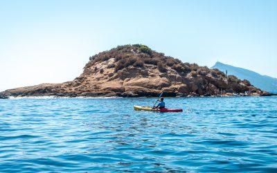 La Bocana Sailing Point : AVENTURAS MORRO DE TOIX y ISLAS / acantilados y cuevas