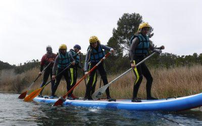 Paddle Sup En el Río Cabriel