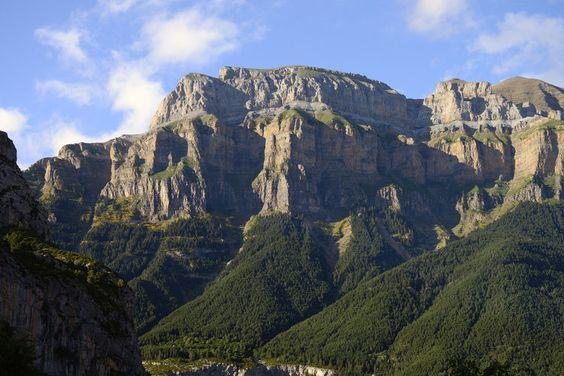 Naturaleza, fauna y flora, en el Parque Nacional de Ordesa