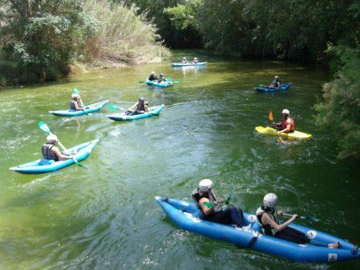 Canoa-Raf en el P.N del Río Cabriel
